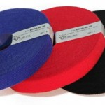 Bridas tipo Velcro para organizar cables de red y RJ45