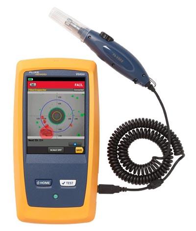 Sistema de inspección de fibra óptica