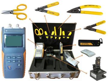 Kits para limpieza y conectorización de fibra óptica