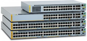 Switches de acceso apilables Fast Ethernet para redes empresariales