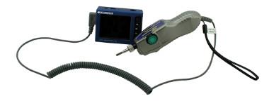 Sonda de vídeo-inspección de fibra óptica