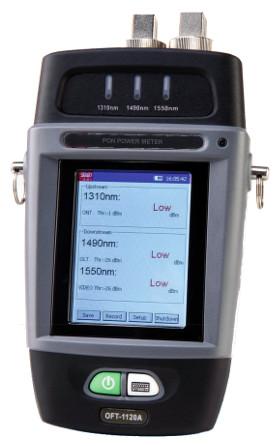 Medidor de potencia para redes ópticas pasivas (PON)
