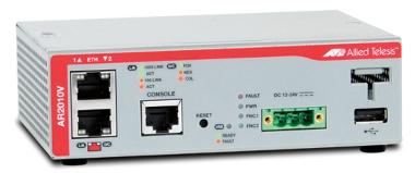 Firewall VPN compacto y rugerizado para entornos adversos
