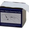 Cubo para limpieza de conectores de fibra óptica