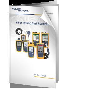 Guía de bolsillo sobre prácticas recomendadas para la comprobación de fibra óptica