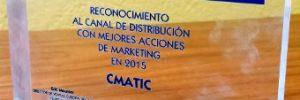 """CMATIC, premio """"A las Mejores Acciones de Marketing"""" en el canal de Fluke Networks"""
