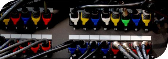 PatchClip clips de colores para identificación de conectores RJ45