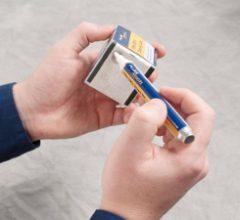 Lápiz disolvente para limpieza de conexiones de fibra óptica