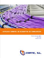 Catalogo General de Elementos de Canalizacion