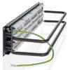Panel Cat6 de 24 puertos y estilo 110 UTP con soporte PoE+ de 100 W