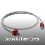 Secure RJ Patch Cords