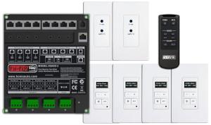 Sistema de audio distribuido para viviendas y comercios