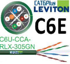Cable Cat 6 U/UTP Cca para instalaciones donde la seguridad ante el fuego es una prioridad