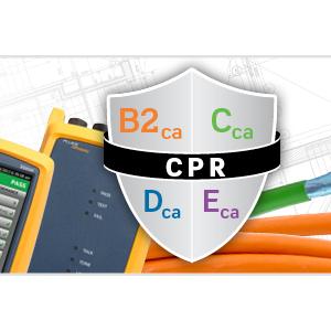 Los cables CPR de Leviton, en la última versión del firmware VERSIV de Fluke Networks