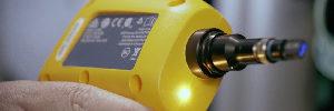 Cámara de inspección MPO para terminación completa de fibras individuales