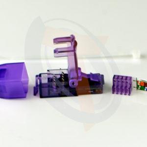 Conector Macho UTP Cat6a