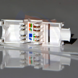 Módulo Hembra UTP Cat6 Blanco Tool Free