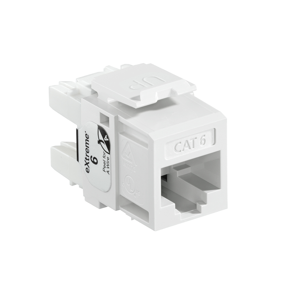 Modulo QuickPort eXtreme Cat 6, blanco