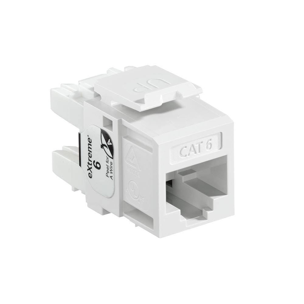 Modulo QuickPort eXtreme Cat 6, blanco