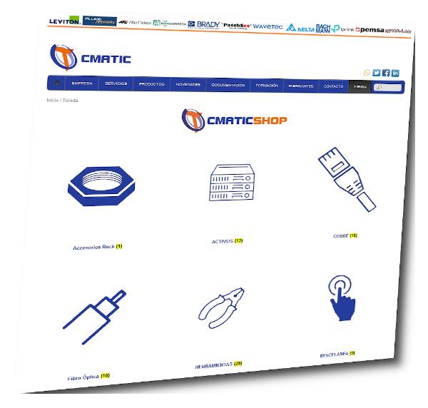 CMATIC estrena tienda online especializada