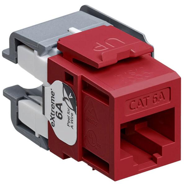 Cubiertas moldeadas para proteger los conectores Cat 6A / Clase EA
