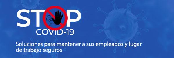 ¡Ayuda a detener COVID-19 con soluciones eficientes de seguridad e identificación!