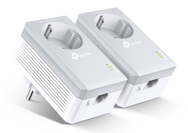 Adaptador Powerline AV500 con enchufe incorporado