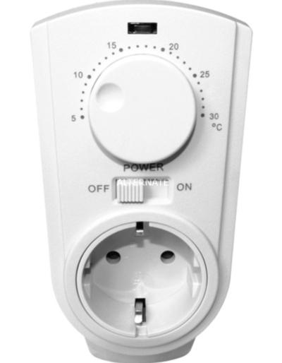 Adaptadores con enchufe para termostato