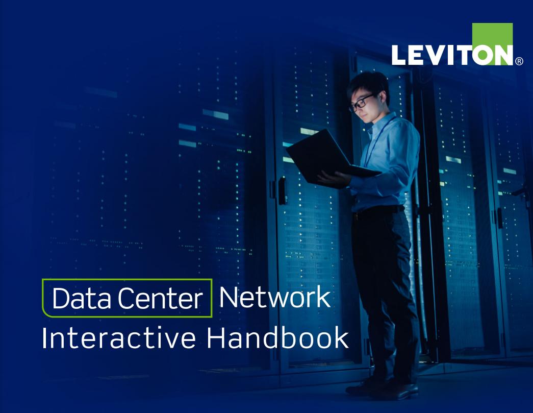 Manual interactivo Leviton para redes en centros de datos