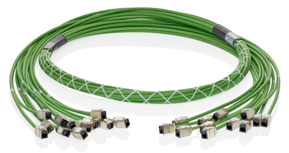 Cables troncales de cobre para redes corporativas y centros de datos