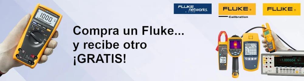Promoción compra un Fluke y obtienes otro gratis