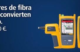 Campaña comprobadores de fibra óptica